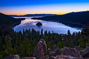 Jamie Pham - Rocks over Emerald Bay