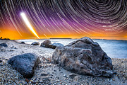 Startrails Framed Prints - Rockstars Framed Print by Ryan Moore