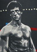 Boxing Paintings - Rocky 2013 by Luis Ludzska