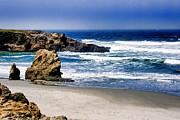William Havle - Rocky Beach Blue Mendocino
