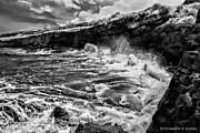 Christopher Holmes - Rocky Coast BW