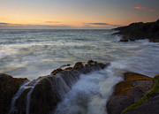 Rocky Photos - Rocky Creek Sunset by Mike  Dawson
