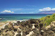 Featured Prints - Rocky Maui Shore Print by Kicka Witte