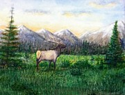 Larry Lamb - Rocky Mountain elk