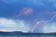 James Bo Insogna - Rocky Mountain Foothills Lightning Strikes