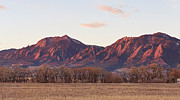 Panorama Art - Rocky Mountain Front Range Boulder Flatiron Pano  by James Bo Insogna