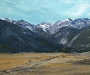 Gallary Prints - Rocky Mountain  Print by Gwendolyn Hope-Battley