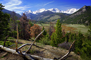 Rocky Mountain National Park Prints - Rocky Mountain National Park Print by Joan Carroll