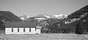 James BO  Insogna - Rocky Mountain School House Panorama