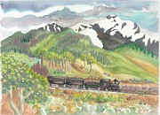 Turn Of The Century Originals - Rocky Mountain Train by Lynn Maverick Denzer