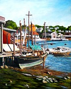 Eileen Patten Oliver - Rocky Neck October