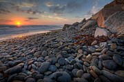 Rocky Beach Prints - Rocky North Ponto Print by Peter Tellone