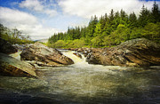 Roy Mcpeak Prints - Rocky River Print by Roy McPeak