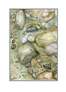 Joan A Hamilton - Rocky Shore Note Card