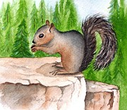 Lyn DeLano - Rocky the Squirrel