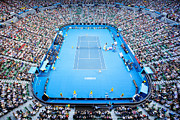 Australian Open Prints - Rod Laver arena Print by Ben Johnson
