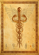 Healthcare Originals - Rod of Asclepius by Li   van Saathoff