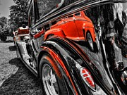 1957 Ford Custom Prints - Rod Reflections Print by Lance Vaughn