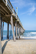 Under The Ocean Prints - Rodanthe Pier Print by Kay Pickens