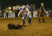 Bull Riders Photos - Rodeo 4 by Don Olea