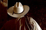 Cowboy Photos - Rodeo Cowboy by Olivier Le Queinec