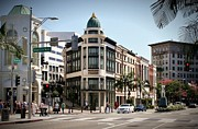 Rodeo Drive Los Angeles Print by David Gardener