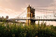 Randall Branham - Roebling Bridge from down under