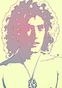 Icon Drawings Metal Prints - Roger Daltrey Metal Print by Giuseppe Cristiano