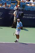 Grand Slams Photos - Roger Federer After 1st Slam by Rexford L Powell