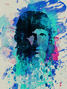 Rock Band Digital Art Prints - Roger Waters Print by Irina  March