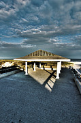 Rogers Beach Prints - Rogers Beach Pavillion Print by Robert Seifert