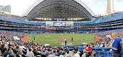 Nationals Baseball Framed Prints - Rogers Centre Framed Print by C H Apperson