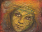 Prodigal Pastels Posters - Rogue Poster by Debra Lynn Birchell