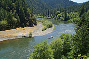 Riffle Art - Rogue River Recreation Paradise by Mick Anderson