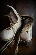 Antique Skates Photo Posters - Roll Away Poster by Michelle Calkins