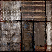 Weathered Digital Art Metal Prints - Roll Away the Stone Metal Print by Carol Leigh