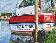 Roll Tide Stern Print by Michael Thomas