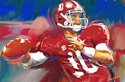 Roll Tide Digital Art Posters - Roll Tide Poster by Steven Lester
