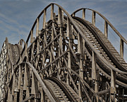 Ron Roberts Photography Posters - Roller coaster Poster by Ron Roberts
