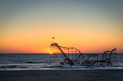 Sillouette Originals - Roller Coaster Sunrise by Michael Ver Sprill