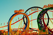Sights Art - Rollercoaster at the Octoberfest in Munich by Sabine Jacobs
