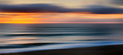 New England Sunrise Acrylic Prints - Rollers Acrylic Print by Bill  Wakeley