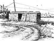 Shed Drawings - Rollin On by Sam Sidders