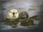 Otters Originals - Rollin on the River by Sharon Burger
