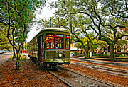 Streetcar Digital Art - Rollin Thru New Orleans painted by Steve Harrington