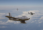 Classic Aircraft Prints - Rolling Home Print by Pat Speirs
