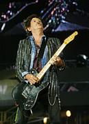 Rolling Stones Concert 12 Print by Rafa Rivas