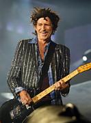 Rolling Stones Concert 14 Print by Rafa Rivas