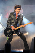 Keith Richards Photos - Rolling Stones Concert 4 by Rafa Rivas