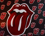 Lips  Paintings - Rolling Stones  by Cynthia Farmer